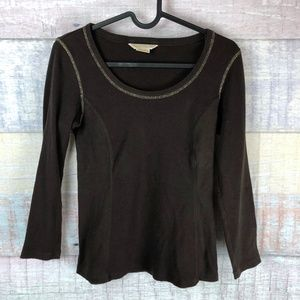 MICHAEL Michael Kors Stretchy Long Sleeve Tee P4